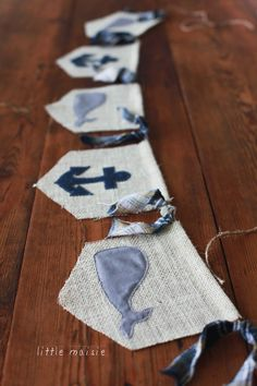 Whale+&+Anchor+Burlap+Banner+by+LittleMaisie+on+Etsy,+$35.00