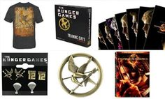 The Hunger Games DVD Countdown BEGINS! Find out how to win these cool prizes!