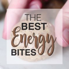 This master energy bites recipe is the only one you'll ever need! Endless add-in options, these babies are healthy and delicious – truly the best energy bites I've ever had!