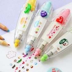 Cute correction tape Cartoon animal Decoration tapes for letter diary DIY scrapbooking tools stationery School supplies 6514