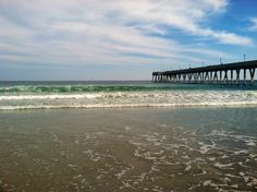 Beautiful Wrightsville Beach ~ One of our favorite beaches - and the first beach Aidan ever visited :)