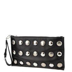 Miu Miu black clutch with mirror applications, wrist bag, from Wunderl in Austria