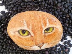 Tabby Cat Inspired Stone | Flickr - Photo Sharing!