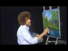 """We don't make mistakes - we have happy accidents"" #BobRoss"
