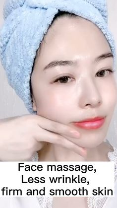 Oily Skin Care, Face Skin Care, Beauty Tips For Glowing Skin, Beauty Skin, Facial Yoga, Skin Care Routine 30s, Face Exercises, Face Massage, Facial Care