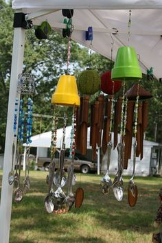 spoon windchime 199x300 Ask Maria Protecting Metal for Outside Use