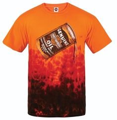 """""""Poured Out"""" Horizontal Crinkle Dye T - Orange/Crimson - Available in sizes S - at your local Harley-Davidson® dealer. Harley Davidson Dealers, New Harley Davidson, Harley Davidson Motorcycles, Motorcycle Jeans, Menswear, Orange, Fall, Clothing, Mens Tops"""