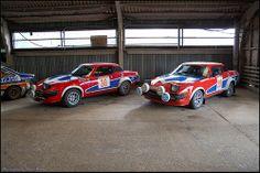 Triumph TR7s . A fine pair