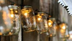 DIY: Mason Jar Lights Industrial lightings are in trend now that they are featured in numerous home decor magazines. Check out this real Mason Jar.