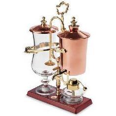 The Genuine Balancing Siphon Coffee Maker.