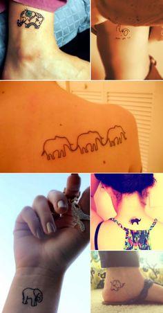 tatuagens-pequenas-tatuagem-feminina-tatuagem-braco-costas-tattoo-elefante-desenhos-ideias-dicas.jpg (700×1341)