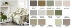 Neutral Interior Paint Color Schemes   SUTTER - SampleBoard