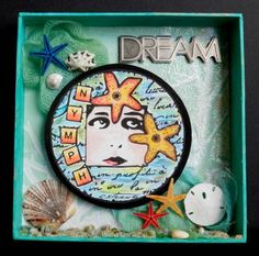 Altered shadow box by BonnieBeth - Cards and Paper Crafts at Splitcoaststampers