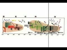 Ligeti - Artikulation  In the 70's, Rainer Wehinger created a visual listening score to accompany Gyorgy Ligeti's Artikulation. I scanned the pages and synchronized them with the music.