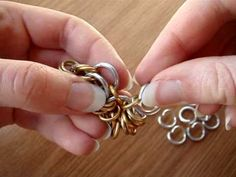 WhirlyBird Chainmaille Tutorial, via YouTube. by FalloftheNoldor