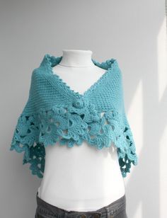 This beautiful knitted Capelet is perfect for the changing weather, and will be fun to wear all season long.  This cowl is cozy and stylish.It s very soft and warm.  It is easy to change around for many different looks and styles.  One size fits all  If you are interested in a particular color,let me know.  Perfect for your self or as a gift for that special someone  Item will arrive beautifully packaged.  75% acrylic 25% wool  This Capelet was hand knitted in a smoke-free and pet-free home…