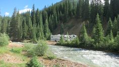 Camp next to a roaring river for FREE at Anvil Camping Area in San Juan National Forest - Silverton, CO.