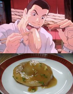 Traditional Bawan recipe from studio ghiblis spirited away
