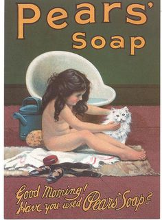 Vintage - Pears soap, you never forget the lovely smell, takes me back to my childhood.