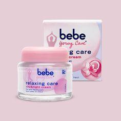 bebe Young Care relaxing care day & night cream ist die erste Gesichtscreme von bebe Young Care die nicht nur die Haut pflegt, sondern sie gleichzeitig auch entspannt.