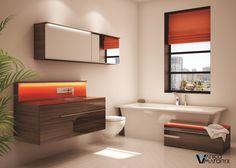 Stylish bath vanity by Vanico Maronyx / Times Square Collection Bathroom Inspo, Bathroom Inspiration, Times Square, Bath Fixtures, Bathroom Renos, Bath Vanities, Bath Design, Guest Bedrooms, Inspired Homes