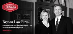 Tax relief with an IRS tax lawyer on your side. Call 225-223-6714 for help. We are a Louisiana law firm focusing on helping IRS and state tax problems. http://www.brysonlawfirm.com/
