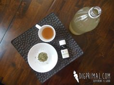 Detangling and Strengthening Hair Rinse...the catnip and grapefruit essential oil help to Detangling and strengthen hair while the apple cider vinegar smooths the hair shaft for super shiny hair! | digprimal.com