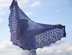 Ravelry: Yvonne's Wings pattern by Kimberly Gintar