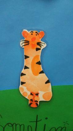 Footprint Tigger from Winnie the Pooh
