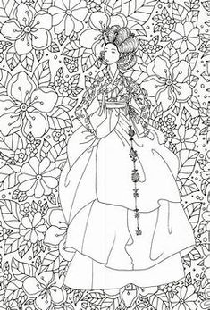 Adult Japan Coloring Page