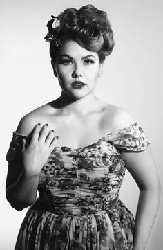 vintage 1940's glamour and fashion | Old Hollywood | Rococoland Studios