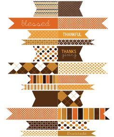 Thanksgiving printable! CUTE!
