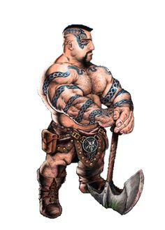 Image result for dwarf barbarian artwork