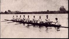 1924 Kings Cup Crew representing Queensland from Wide Bay Rowing Club. Winning Crew: Bow S E Axelsen, O E Lohse, P J Finney, R S Goodwin, V Sullivan, A Clark, L B Raffin, Str H N Goodwin, Cox D Castle. Photo courtesy of Neil Magarry
