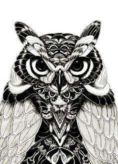 Imagem de animal, art, and drawing
