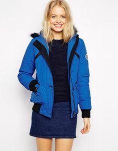 Bellfield+Short+Jacket+With+Faux+Fur