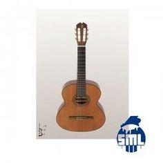 Guitarra Clássica Cedro/Nogueira Cordas Nylon APC 5C Veja esta guitarra no site do Salão Musical de Lisboa http://www.salaomusical.com/pt/guitarra-classica-cedro-nogueira-cordas-nylon-5c-p941