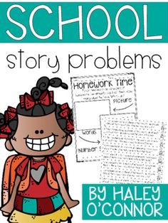 This is a packet of 10 story problems...there are 2 versions! :) One version is perfect for math notebooking and another is a full page printable where students show their thinking in words and pictures!