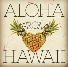 Aloha! pineapple love