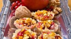 Cranberry Pear Tartlets