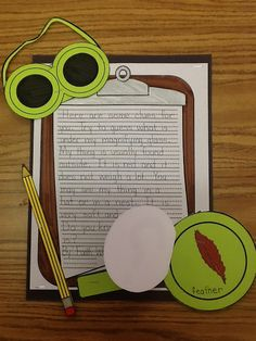Mystery Writing (Hide an object in magnifying glass and close it.  Students write about what they hid and other students try to guess based off the clues)