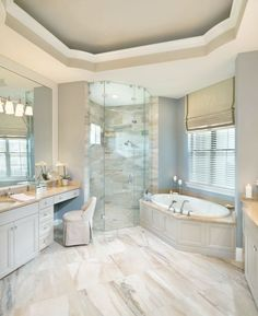 Rutenberg - Melbourne Luxury Designer Home - Bathroom - glass walk in shower - amazing floor tile By Arthur Rutenberg Homes