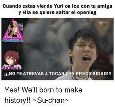 En esta historia encontraras varios memes de Yuri on ice que te haran… #detodo # De Todo # amreading # books # wattpad
