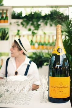 veuve cliquot. the best champagne there is.