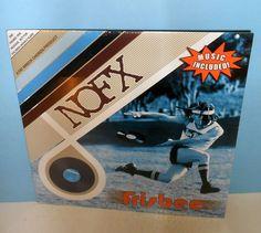 NOFX frisbee LP Record SEALED vinyl , punk , fat wreck chords , coaster #punkPunkNewWave
