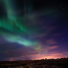 Also referred to as the Northern/Southern lights, aurora borealis and aurora australis are natural light displays in the sky. They occur normally in Arctic and Antarctic regions and are caused by the collision of energetic charged particles with atoms in the high altitude atmosphere.