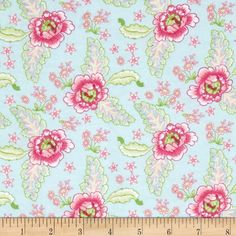 Designed by Nadene Naude, this soft, double napped (brushed on both sides)… Rifle Paper Co, Green Aqua, Blue, Shades Of Green, Fabric Design, Sewing Projects, Cotton Fabric, Flame Retardant, Flannels