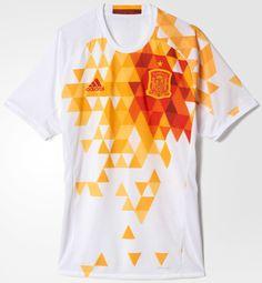 Adidas lança nova camisa reserva da Espanha - Show de Camisas