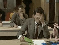looking for the 'lol joke' when you get all U grades. Sum up how you're feeling about results day in a meme or gif [golden thread] - Page 6 - The Student Room Exam Quotes Funny, Exams Funny, Funny Picture Quotes, Cute Cartoon Pictures, Best Funny Pictures, Funny Videos, Mr. Bean, Mr Bean Funny, Animated Smiley Faces