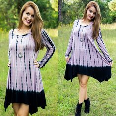 """Another model favorite! Get our """"Peace of My Heart Dress"""" for $35 on www.AthenaAttire.com"""